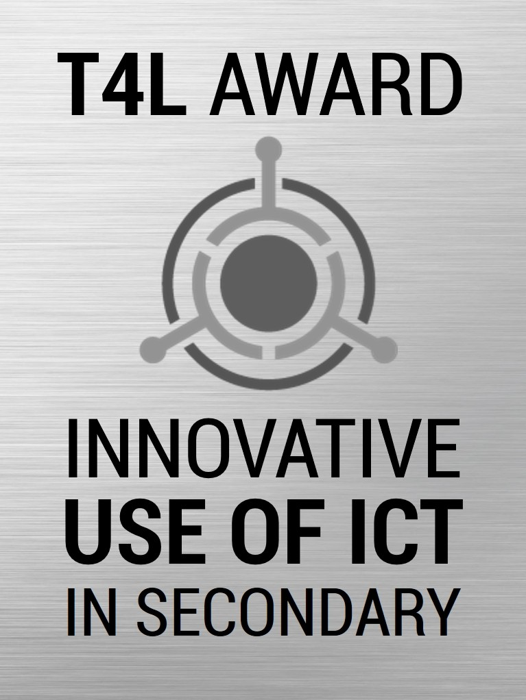 2018 T4L Winner - Innovative Use of ICT in Secondary